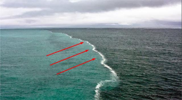 laut terpisah