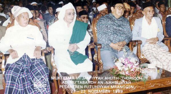 Gus Dur dan Habib Lutfi