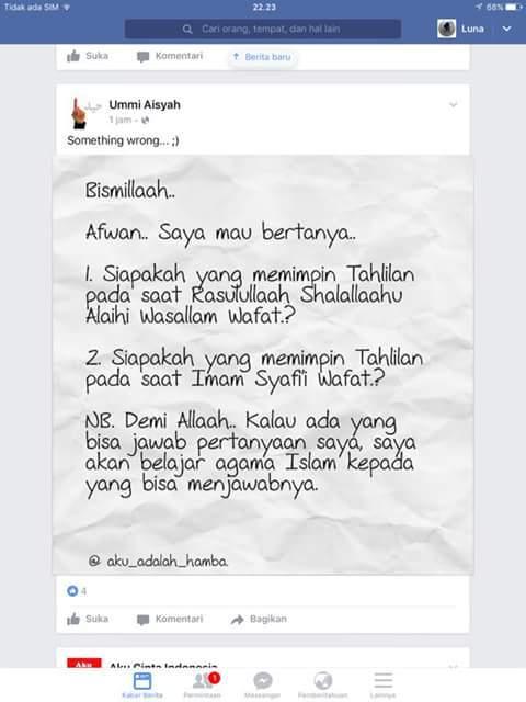 Ummi-Aisyah-Tahlilan